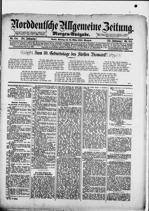 Norddeutsche allgemeine Zeitung vom 31.03.1895