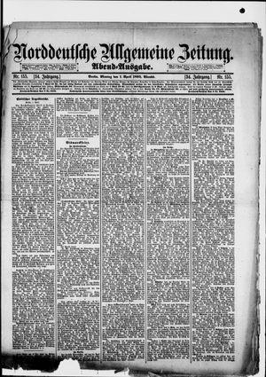 Norddeutsche allgemeine Zeitung vom 01.04.1895