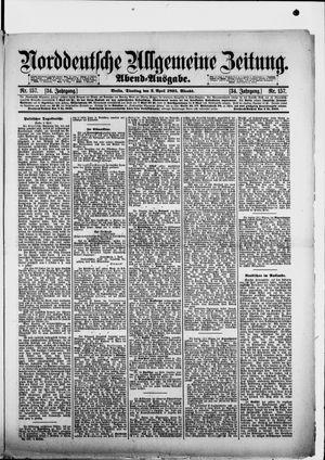 Norddeutsche allgemeine Zeitung vom 02.04.1895