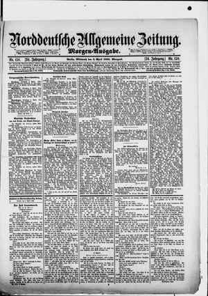 Norddeutsche allgemeine Zeitung vom 03.04.1895