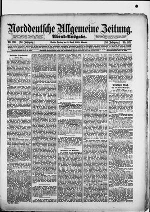 Norddeutsche allgemeine Zeitung vom 05.04.1895