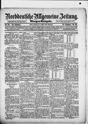 Norddeutsche allgemeine Zeitung vom 07.04.1895