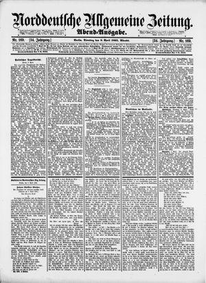 Norddeutsche allgemeine Zeitung vom 09.04.1895