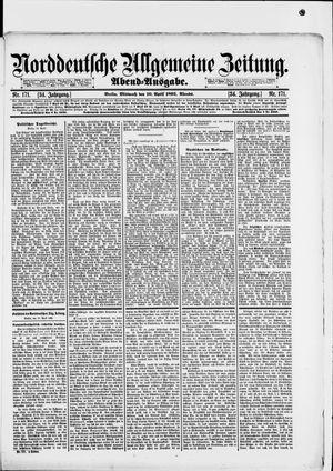 Norddeutsche allgemeine Zeitung vom 10.04.1895