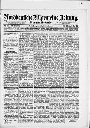 Norddeutsche allgemeine Zeitung vom 12.04.1895