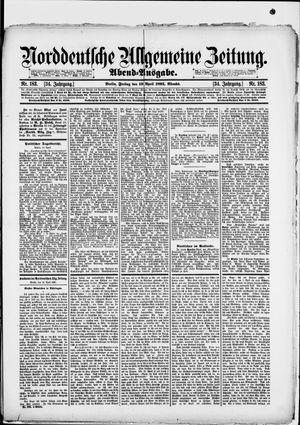 Norddeutsche allgemeine Zeitung vom 19.04.1895