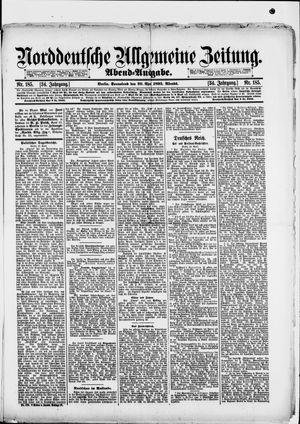Norddeutsche allgemeine Zeitung vom 20.04.1895