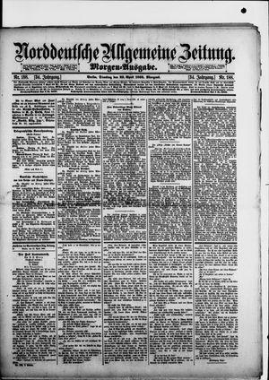 Norddeutsche allgemeine Zeitung vom 23.04.1895