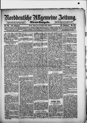 Norddeutsche allgemeine Zeitung vom 29.04.1895