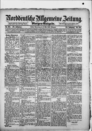 Norddeutsche allgemeine Zeitung vom 02.05.1895