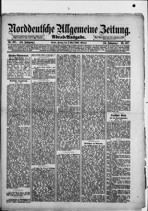 Norddeutsche allgemeine Zeitung vom 03.05.1895
