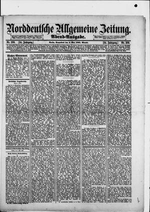 Norddeutsche allgemeine Zeitung vom 04.05.1895