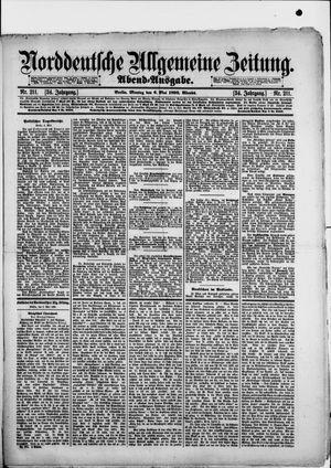 Norddeutsche allgemeine Zeitung vom 06.05.1895
