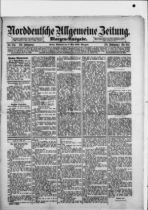 Norddeutsche allgemeine Zeitung vom 08.05.1895