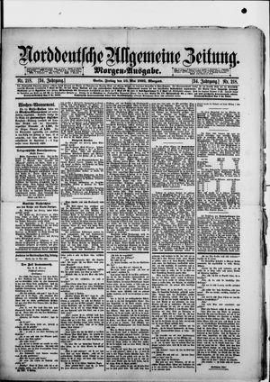 Norddeutsche allgemeine Zeitung on May 10, 1895