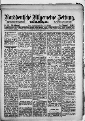Norddeutsche allgemeine Zeitung vom 11.05.1895