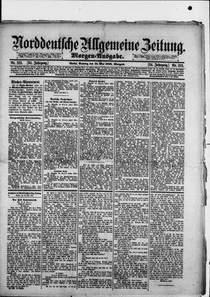 Norddeutsche allgemeine Zeitung vom 12.05.1895