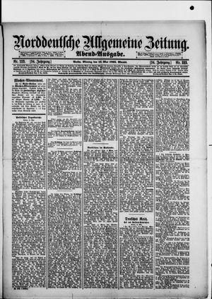 Norddeutsche allgemeine Zeitung vom 13.05.1895