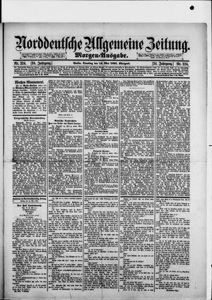 Norddeutsche allgemeine Zeitung vom 14.05.1895