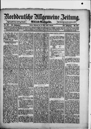 Norddeutsche allgemeine Zeitung vom 15.05.1895