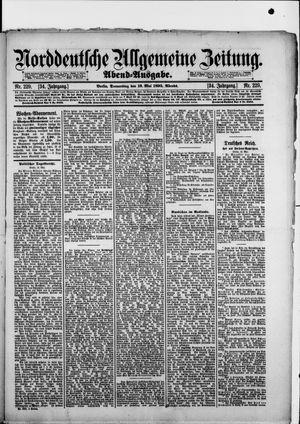 Norddeutsche allgemeine Zeitung vom 16.05.1895