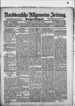 Norddeutsche allgemeine Zeitung vom 17.05.1895