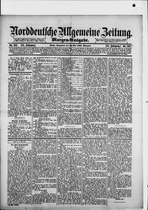 Norddeutsche allgemeine Zeitung vom 18.05.1895