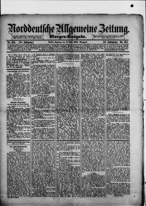 Norddeutsche allgemeine Zeitung vom 19.05.1895
