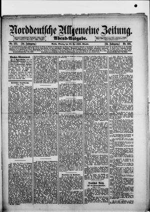 Norddeutsche allgemeine Zeitung vom 20.05.1895