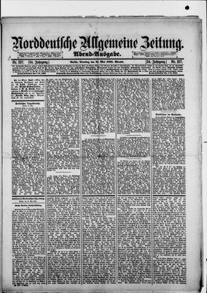 Norddeutsche allgemeine Zeitung vom 21.05.1895