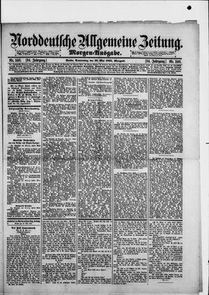 Norddeutsche allgemeine Zeitung vom 23.05.1895