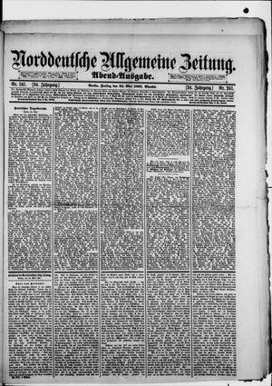 Norddeutsche allgemeine Zeitung vom 24.05.1895
