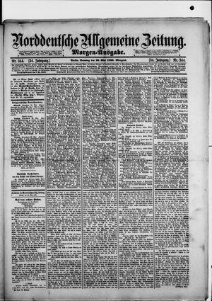 Norddeutsche allgemeine Zeitung vom 26.05.1895