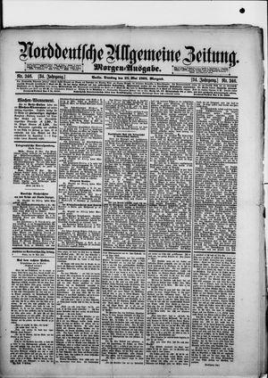 Norddeutsche allgemeine Zeitung vom 28.05.1895