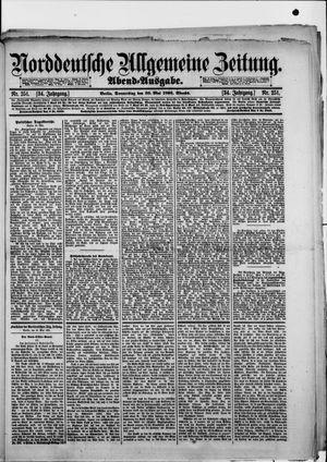 Norddeutsche allgemeine Zeitung vom 30.05.1895