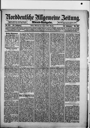 Norddeutsche allgemeine Zeitung vom 05.06.1895
