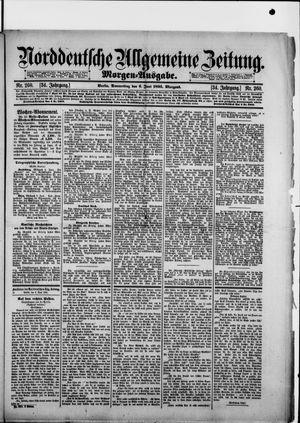 Norddeutsche allgemeine Zeitung vom 06.06.1895