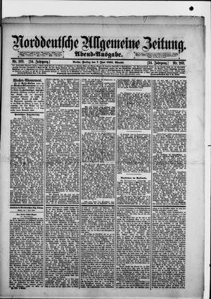 Norddeutsche allgemeine Zeitung vom 07.06.1895