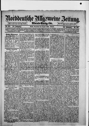 Norddeutsche allgemeine Zeitung vom 08.06.1895