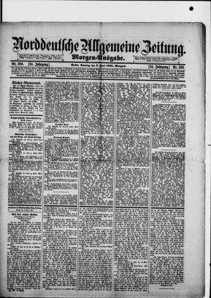 Norddeutsche allgemeine Zeitung vom 09.06.1895