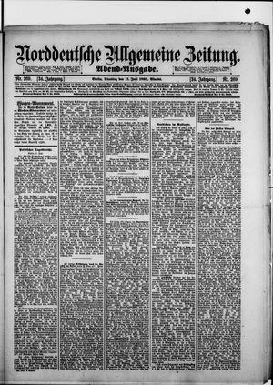 Norddeutsche allgemeine Zeitung vom 11.06.1895