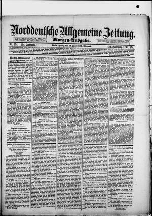 Norddeutsche allgemeine Zeitung vom 14.06.1895
