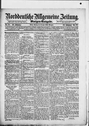 Norddeutsche allgemeine Zeitung vom 16.06.1895