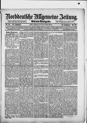 Norddeutsche allgemeine Zeitung vom 18.06.1895
