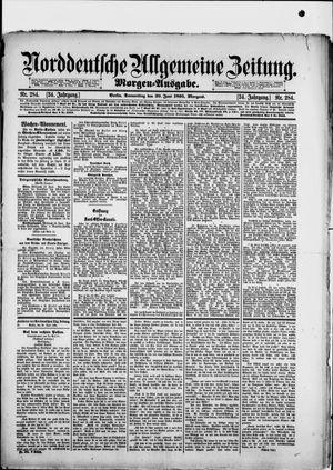 Norddeutsche allgemeine Zeitung vom 20.06.1895