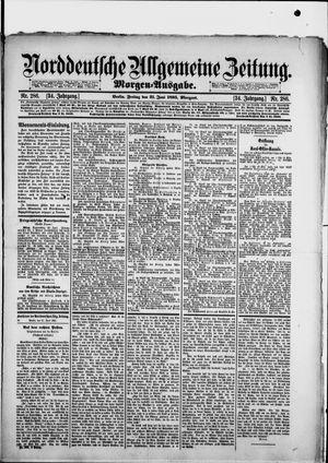 Norddeutsche allgemeine Zeitung vom 21.06.1895