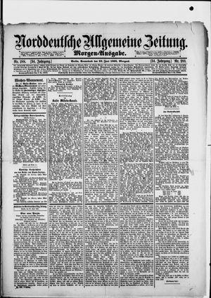 Norddeutsche allgemeine Zeitung vom 22.06.1895