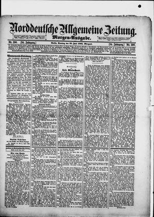 Norddeutsche allgemeine Zeitung vom 23.06.1895
