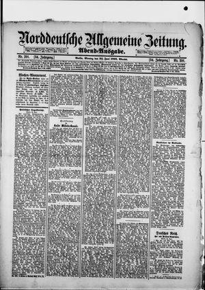 Norddeutsche allgemeine Zeitung vom 24.06.1895