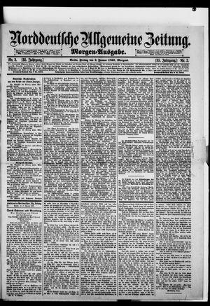 Norddeutsche allgemeine Zeitung on Jan 3, 1896